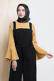 Model Baju Muslim Terbaik Lengan Payung yang Bakal Booming Tahun 2020 1441 H - 3