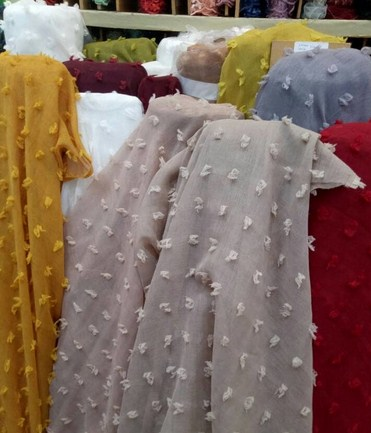 Pilihan Bahan Hijab Populer untuk Lebaran Tahun 2019 1440 H - 6 Rubiah