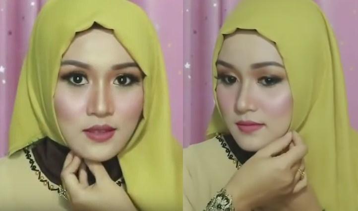 Tutorial hijab pesta, wisuda, dan acara resmi - 1 dan 2