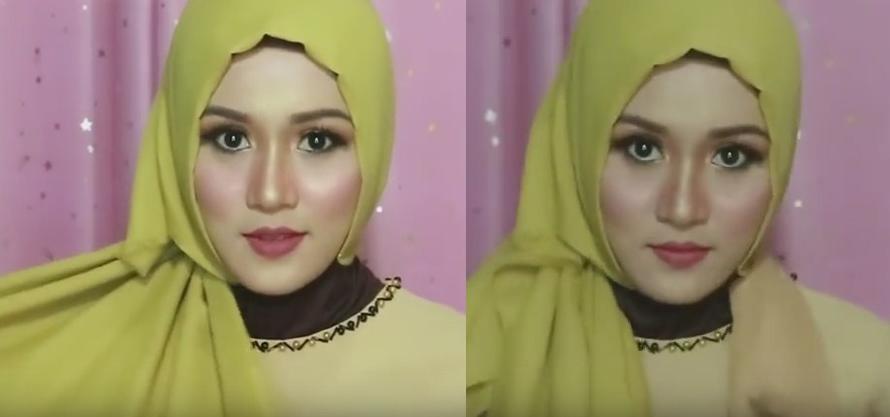 Tutorial hijab pesta, wisuda, dan acara resmi - 3 dan 4