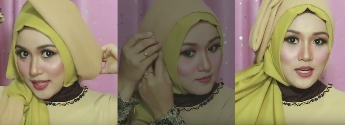 Tutorial hijab pesta, wisuda, dan acara resmi - 5 6 dan 7