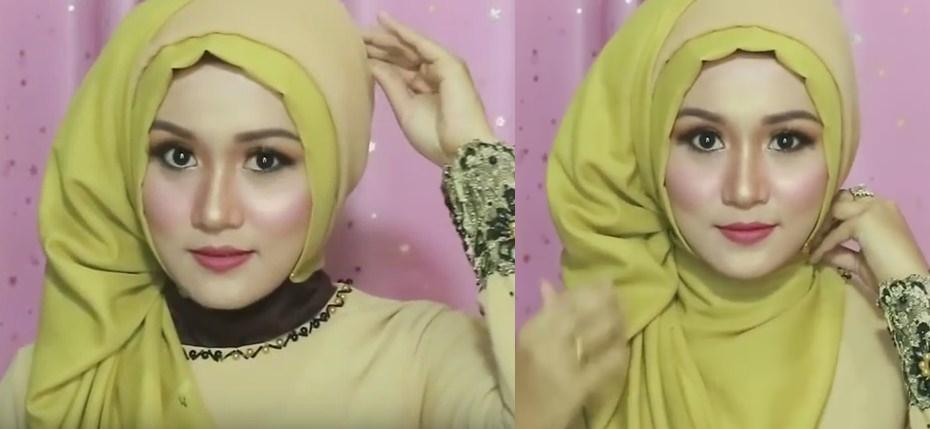 Tutorial hijab pesta, wisuda, dan acara resmi - 8 dan 9