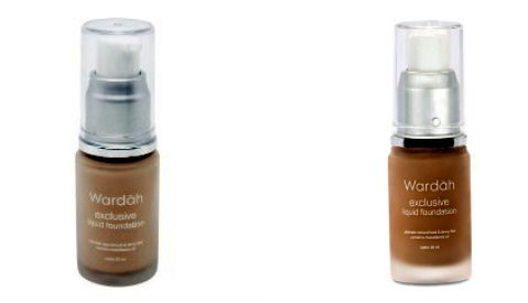 Alas Bedak Wardah 6 - Exclusive Liquid Foundation Light Beige dan Sandy Beige