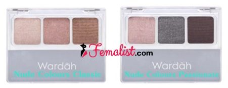 Eyeshadow Wardah Warna Natural - Nude Colours classic and Passionate