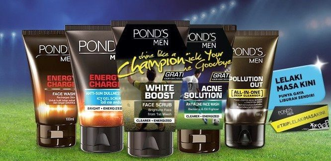 List Produk Unilever Indonesia 6 - Pond's Men