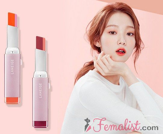 Produk terbaru dan review lipstik Laneige 4 - Two tone lip bar new