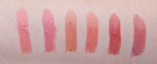 Harga Lipstik Wardah 1 - pilihan warna nude lipstik terbaru nomor 1-6 kiri ke kanan
