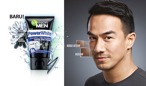 Harga Garnier Lengkap Terbaru Men Power white super duo foam