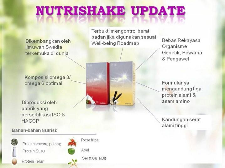 2. Fakta Nutrishake - Nutrishake menurunkan berat badan, menambah, dan menstabilkan